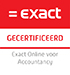 Van Den Akker Accountancy is Exact Certified